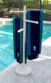 Amazon.com : Outdoor Spa and Pool Towel Rack - Bone : Garden & Outdoor