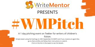 WMPitch | #WriteMentor - for all writers of children's fiction